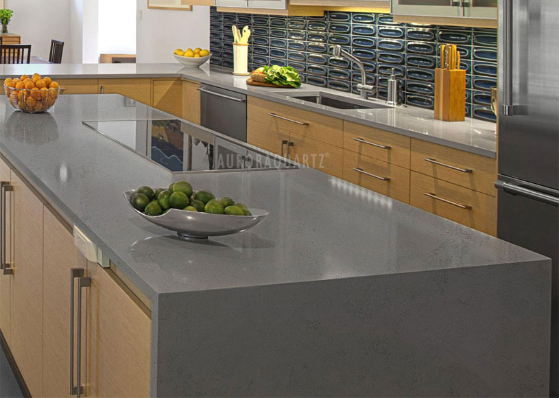 AQ622-Cement-Grey-Quartz-Countertops-1