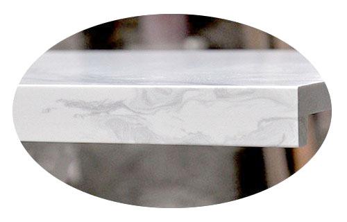 quartz countertops seam
